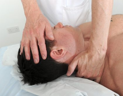 relaxing neck massage